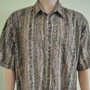 Tori Richard Short Sleeve Button Up Shirt